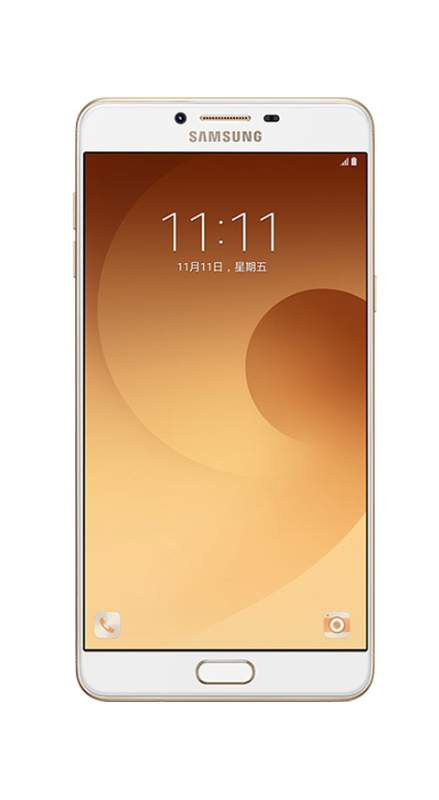 Samsung Galaxy C9 Pro Front View