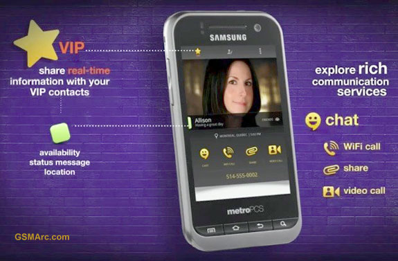 MetroPCS Launches Rich Communication Services